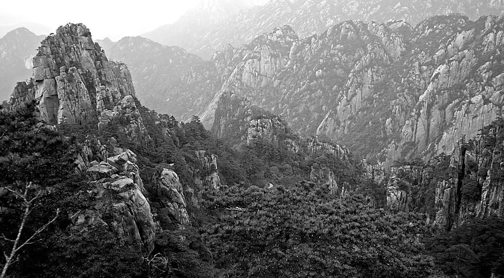 """Huangshan China Yellow Mountain Landscape"" by Chi King (cc-by-2.0) https://commons.wikimedia.org/wiki/File:Huangshan,_China_(YELLOW_MOUNTAIN-LANDSCAPE)_XII_(1071076723).jpg"
